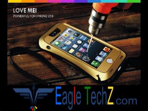 capa iphone 6 6s 6s plus 5 5s e 5c a prova d agua mei eagletechz