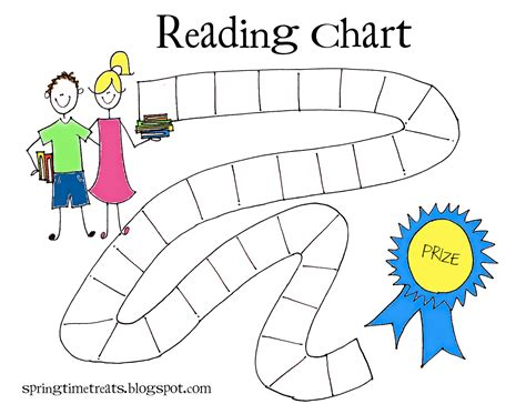 reading for free time treats reading chart free printable