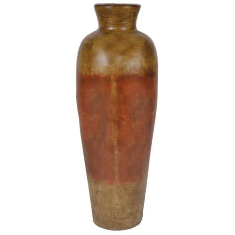 Antique Ceramic Vase by Rutherford Small Ceramic Vase Antique Orange