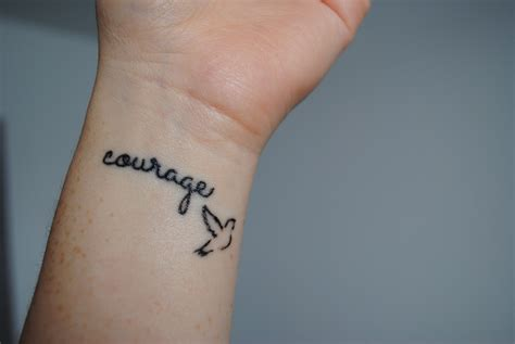 courage tattoo 20 glorious tattoos images with meanings