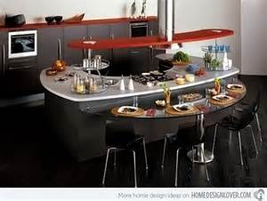 interesting kitchen islands 15 unique and modern kitchen island designs home design