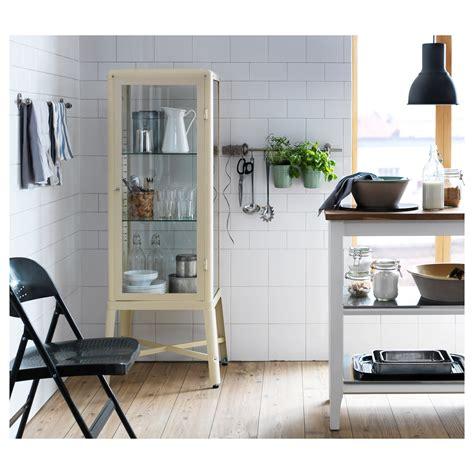 fabrikor ikea fabrik 214 r glass door cabinet beige 57x150 cm ikea