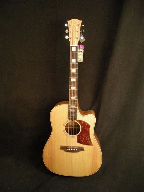 Gitar Cole Clark Australia Neck Maple paramount guitars instrument detail cole clark fl2ac
