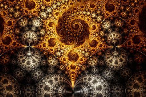 design batik fractal third eye parallax