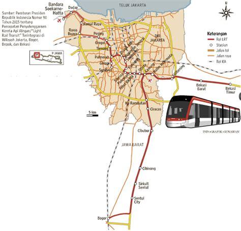 rencana layout sirkuit sentul inilah peta jalur dan stasiun kereta api ringan lrt bogor