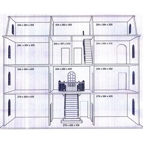 making house plans downton manor dolls house kit latest design btk003