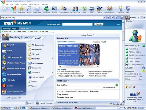 personalized my msn homepage images