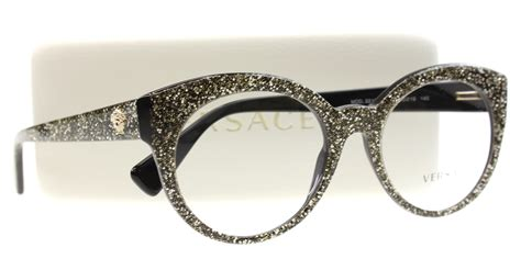 new versace eyeglasses ve 3217 silver 5159 popchic