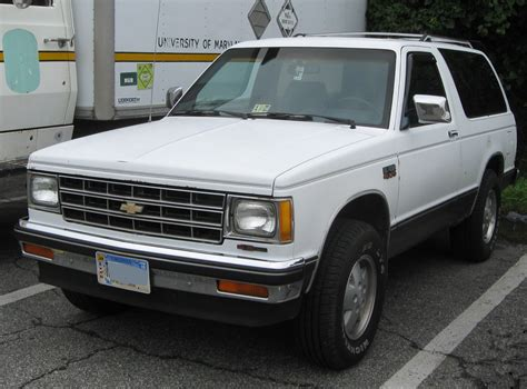 2 Door Blazer by File Chevrolet S 10 Blazer 2 Door 09 08 2009 Jpg