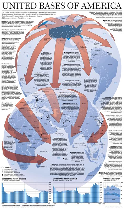 map us bases u s bases around the world graphic national post