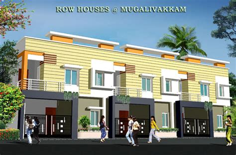 row home design news rajeswari infrastructure row house in mugalivakkam