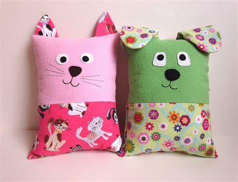 Pillow Pattern cat pillow pattern tutorial pdf sewing pattern with