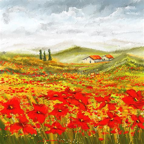 painting images field of dreams poppy field paintings painting by lourry
