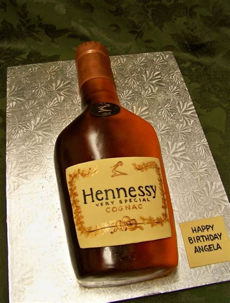 hennessy bottle cake happy hour