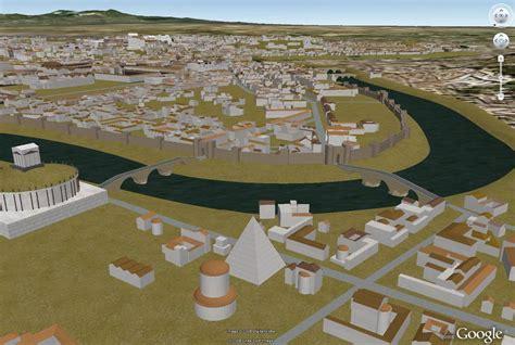 imagenes google earth antiguas google invita a un paseo virtual por la antigua roma