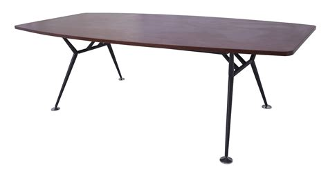 Black Boardroom Table Office Direct Qld Fe Boat Shaped Table With Steel Base Office Direct Qld