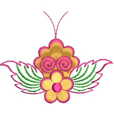 creative design and embroidery creative butterfly embroidery design