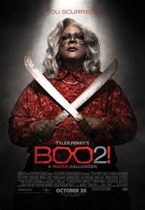 movie releases tyler perrys boo 2 a madea halloween by tyler perry a third poster to tyler perry s boo 2 a madea halloween blackfilm com read blackfilm com read
