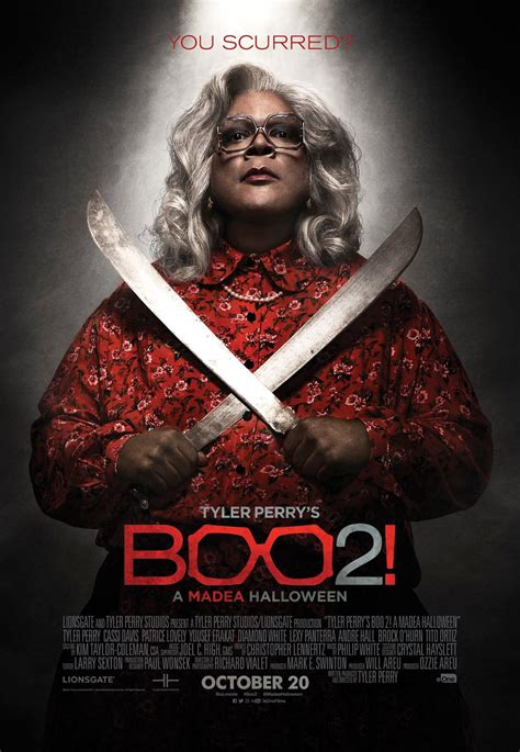 movies today tyler perrys boo 2 a madea halloween by tyler perry a third poster to tyler perry s boo 2 a madea halloween