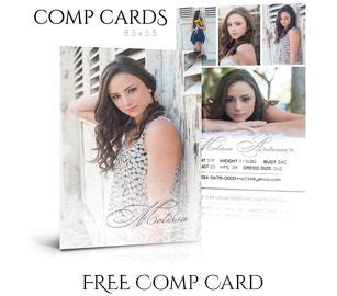 Comp Card Template Free Photoshop by 1000 Ideas About Model Comp Card On Modeling