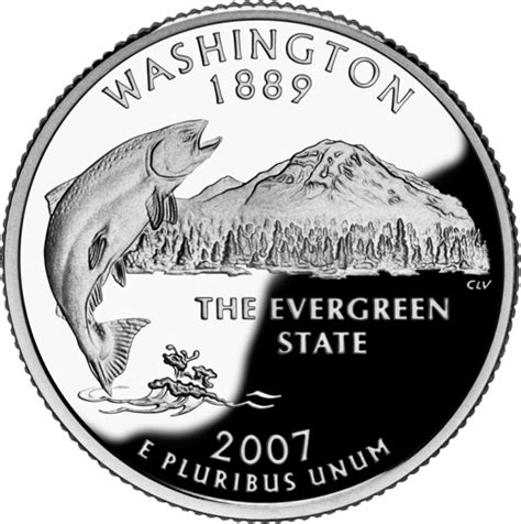 washington state nickname the evergreen state