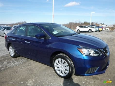 blue nissan sentra 2017 blue pearl nissan sentra s 118694853 photo 3