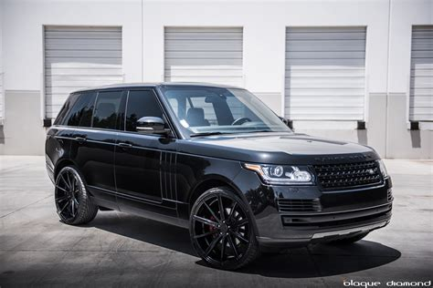 modified 2015 range rover 2015 range rover fitted with 24 inch bd 9 s in black