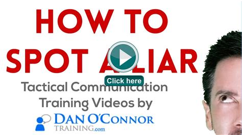 7 Hows To Spot A Liar by Communication Skills Course Language How
