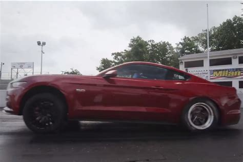 2015 mustang modified video first drag tests of modified 2015 mustang gt and