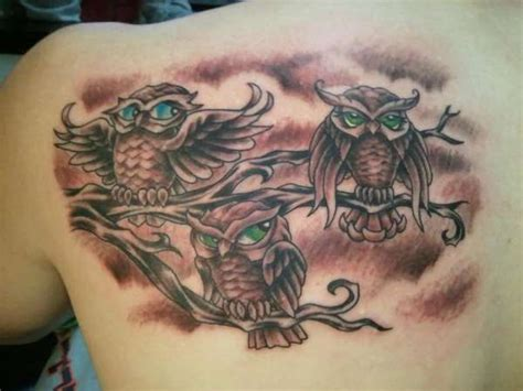 tattoo family owl 100 most popular owl tattoos golfian com
