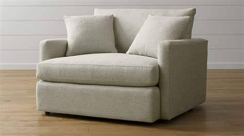 Modern High Back Sofa Lounge Chair And A Half Crate And Barrel