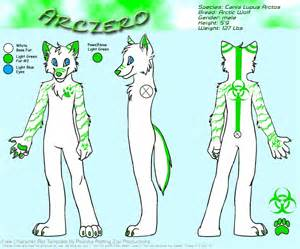 Fursona Template by My Fursona Reference Sheet By Crazyjump15 On