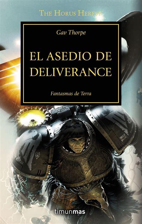 libro el asedio el asedio de deliverance out now