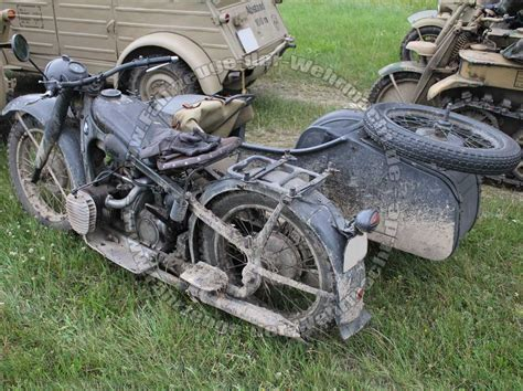 Bmw Motorrad Mit Beiwagen Wehrmacht by Bmw Gespann Wehrmacht