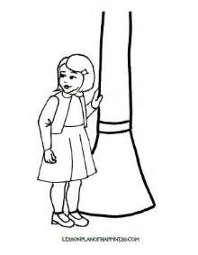 lww lucy coloring page lesson plan of happiness