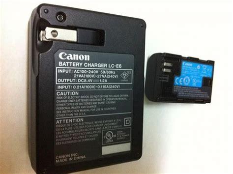 Charger Canon Lc E6 Battery Canon Lp E6 5d Iiiii 7d 60d sold canon lc e6 battery charger and lp e6 battery 5d ii 7d 60d fm forums