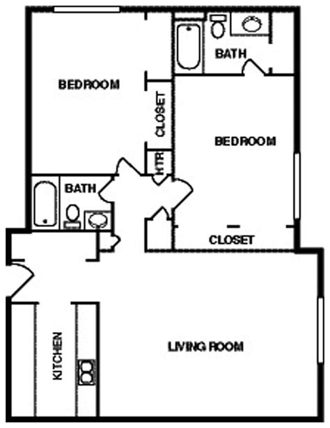 simple two bedroom house plans simple bedroom house plans simple two bedroom house plan
