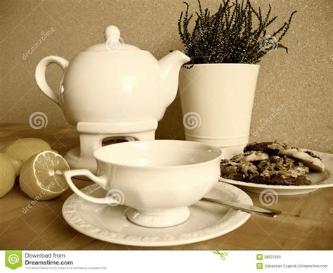 Vintage Tea Set Royalty Free Stock Images   Image: 28537829