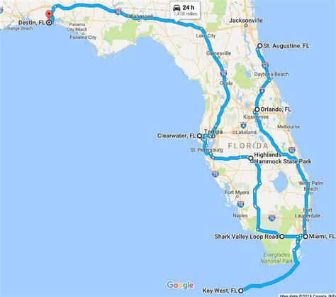 road map of florida the ultimate florida road trip 31 places not to miss
