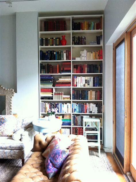 bookshelves that look like built ins pin by ife on ny apartment