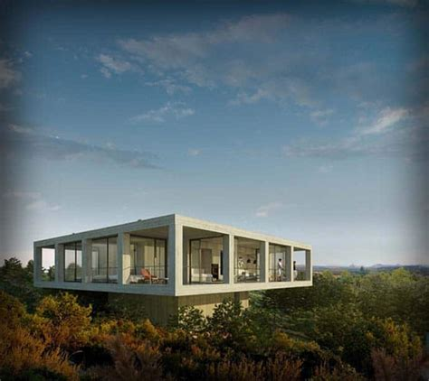 house with a beautiful view beautiful house with an infinite view of nature