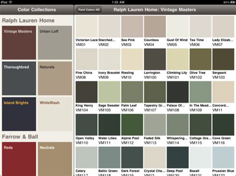 paint colors paint chart chip sle swatch palette color charts