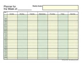 free planner templates 7 free weekly planner templates excel pdf formats