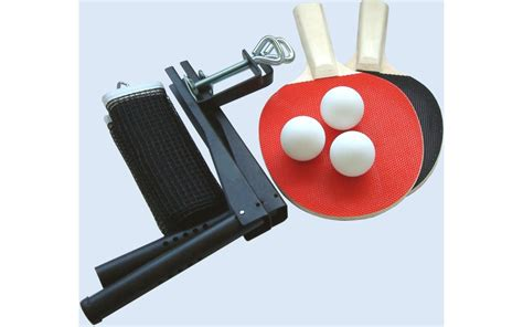 table tennis accessories set 2 bats 3 balls gardenlines