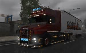 Scania Truck Accessories Scania T Accessories V8 0 R2 Ets 2 Mods