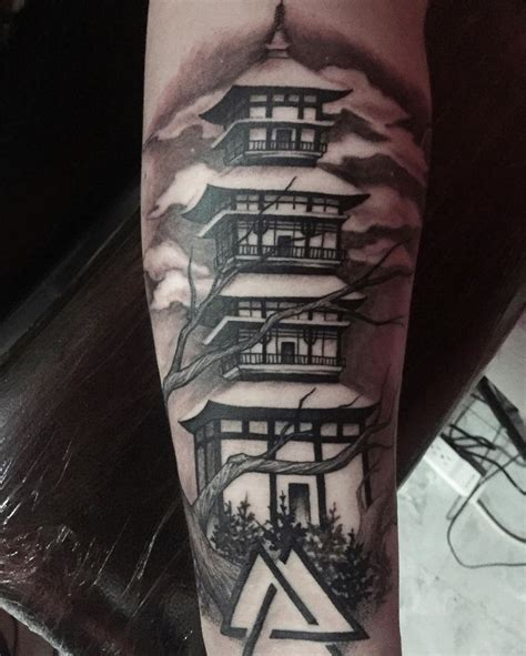 tattoo templo oriental significado best 20 japanese temple tattoo ideas on pinterest