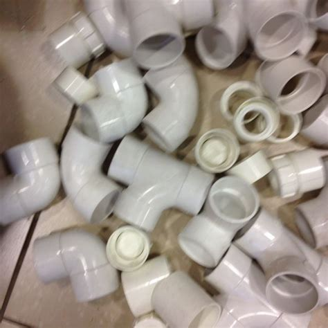 Bulk Plumbing Fittings by 2 Solvent Weld Plastic Pipe Fittings Bulk Lot 95 X Pieces Lot3