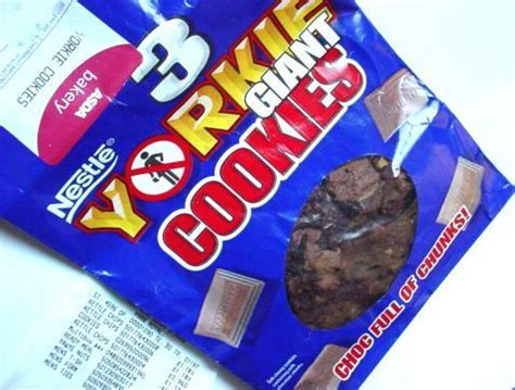 yorkie bar calories nestle yorkie cookies from asda things i like cookies yorkie