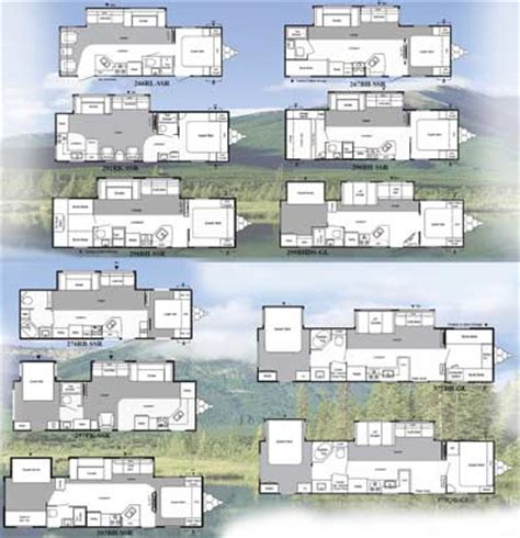 Travel Trailers With Bunk Beds Floor Plans by Catch Your Buzz Here Camping Amp Rv News Got Wood 2010