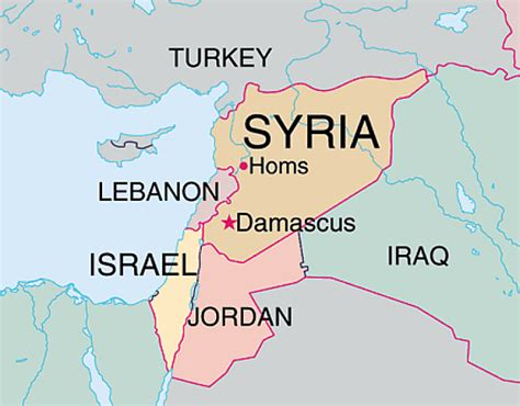 map of syria and surrounding countries syria map surrounding countries